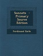 Sonnets af Ferdinand Earle