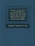Commerce of India af Benjamin Atkinson Irving