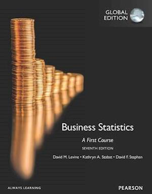Business Statistics: A First Course OLP with eText af David M. Levine