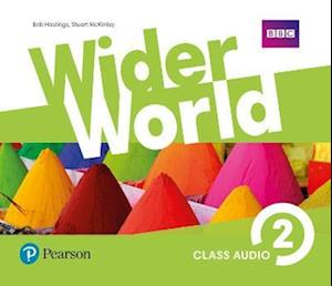 Lydbog, CD Wider World 2 Class