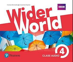 Lydbog, CD Wider World 4 Class