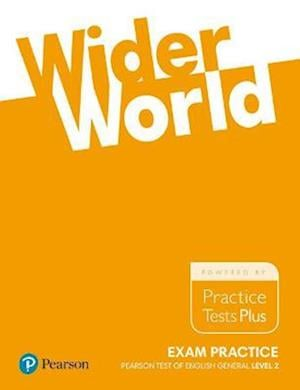 Bog, paperback Wider World Exam Practice: Pearson Tests of English General Level 2(B1)