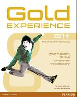 Gold Experience Language and Skills Workbook B1+ (Gold Experience)