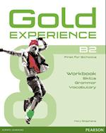 Gold Experience Language and Skills Workbook B2 (Gold Experience)