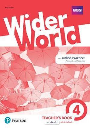 Bog, ukendt format Wider World 4 Teacher's Book