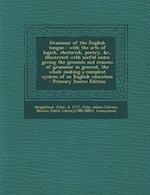Grammar of the English Tongue af John Adams, John Brightland