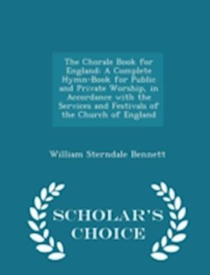 The Chorale Book for England af William Sterndale Bennett