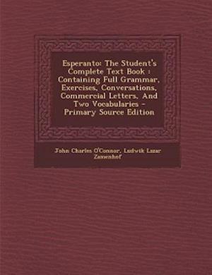Esperanto af John Charles O'Connor
