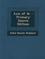 Ann of AV af Ethel Daniels Hubbard