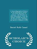 A Genea-Biographical History of the Rittenhouse Family af Daniel Kolb Cassel