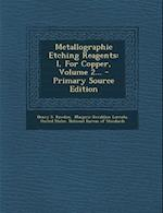 Metallographic Etching Reagents af Henry S. Rawdon