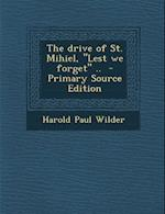 The Drive of St. Mihiel,
