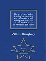 The Great Contest af Willis C. Humphrey