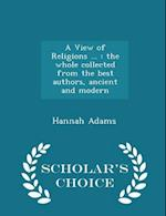 A View of Religions ... af Hannah Adams