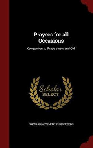 Prayers for All Occasions af Forward Movement Publications