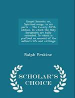 Gospel Sonnets af Ralph Erskine