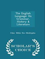 The English Language af John Miller Dow Meiklejohn