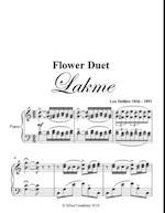 Flower Duet Lakme Intermediate Piano Sheet Music af Leo Delibes