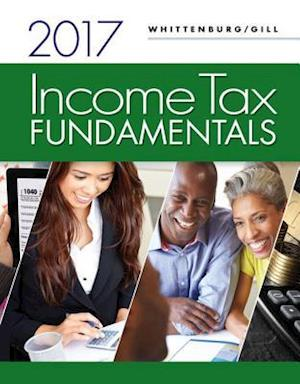 Bog, paperback Income Tax Fundamentals 2017 (with H&r Block Premium & Business Access Code for Tax Filing Year 2016) af Gerald E Whittenburg