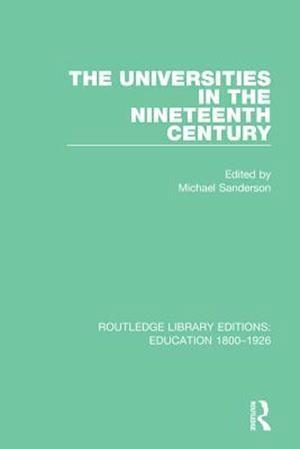 Universities in the Nineteenth Century