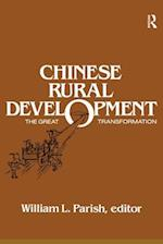 Chinese Rural Development: The Great Transformation