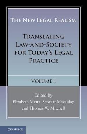 New Legal Realism: Volume 1