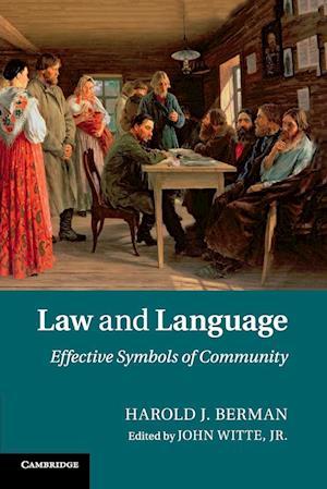 Bog, paperback Law and Language af Harold J. Berman