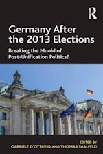 Germany After the 2013 Elections af Thomas Saalfeld