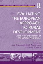 Evaluating the European Approach to Rural Development af Leo Granberg