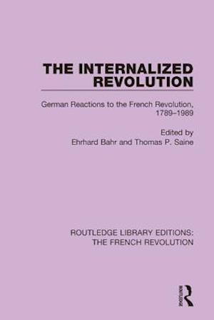 Internalized Revolution af Ehrhard Bahr