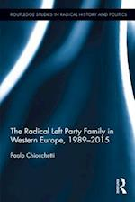 Radical Left Party Family in Western Europe, 1989-2015 af Paolo Chiocchetti