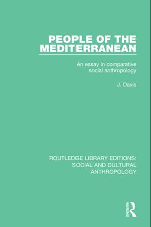 People of the Mediterranean af J. Davis