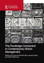 Routledge Companion to Contemporary Brand Management (Routledge Companions in Business, Management and Accounting)