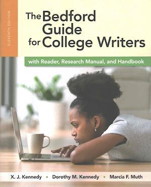 Bog, paperback The Bedford Guide for College Writers af X. J. Kennedy
