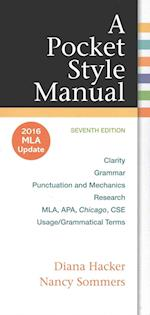 Pocket Style Manual with 2016 MLA Update [With Access Code]
