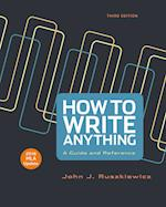 How to Write Anything with 2016 MLA Update