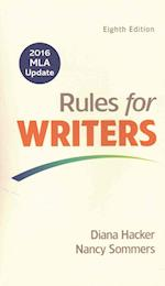 Rules for Writers with 2016 MLA Update [With Access Code]