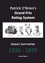 Patrick O'Brien's Grand Prix Rating System