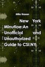 New York Minutiae