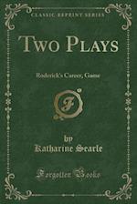 Two Plays af Katharine Searle