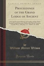 Proceedings of the Grand Lodge of Ancient