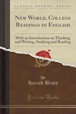 New World, College Readings in English