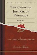 The Carolina Journal of Pharmacy, Vol. 72