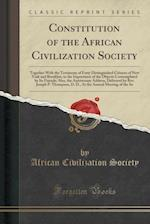 Constitution of the African Civilization Society