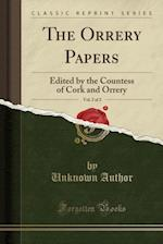 The Orrery Papers, Vol. 2 of 2