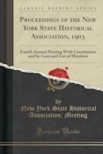 Proceedings of the New York State Historical Association, 1903