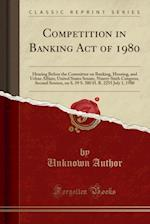 Competition in Banking Act of 1980