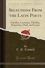 Selections from the Latin Poets