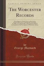 The Worcester Records af George Maynard