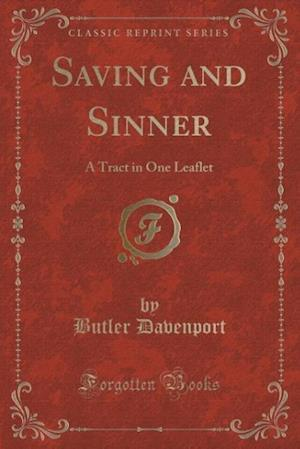 Saving and Sinner af Butler Davenport